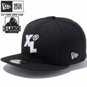 エクストララージ(R)×ニューエラ 5950キャップ ホワイトロゴ XL ブラック スノーホワイト XLARGE(R)×New Era 59FIFTY Cap White Logo XL Black Snow White cio