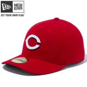 ニューエラ ロープロファイル5950キャップ オーセンティックコレクション シンシナティ レッズ  スカーレット チームカラー New Era LP Cap Reds Scarlet|cio