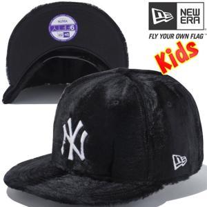 ニューエラ 950 スナップバック キッズキャップ シンティックファー ニューヨーク ヤンキース New Era 950 Snap back Kids Cap Synthetic Fur New York Yankees cio