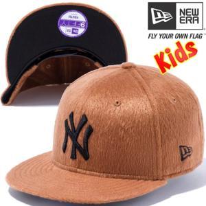 ニューエラ 950 スナップバック キッズキャップ シンセティックファー ニューヨーク New Era 950 Snap back Kids Cap Synthetic Fur New York|cio