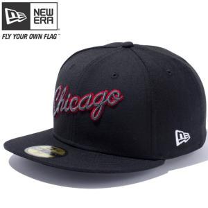 ニューエラ 5950キャップ マルチロゴ NBA シカゴブルズ ブラック カーディナル チームカラー ホワイト New Era 59Fifty Multi Logo NBA Chicago Bulls Black|cio