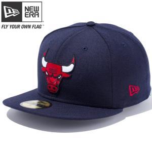 ニューエラ 5950キャップ マルチロゴ NBA シカゴブルズ ネイビー チームカラー スノーホワイト New Era 59Fifty Multi Logo NBA Chicago Bulls Navy Team Color|cio