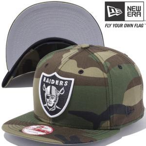 ニューエラ 950 スナップバック キャップ NFLカスタム オークランド レイダース ウッドランドカモ New Era 9FIFTY Snap Back Cap Oakland Raiders Woodland Camo|cio