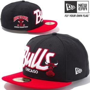 ニューエラ 5950キャップ ツートーンボディ NBA シカゴブルズ ハードウッドクラシックス New Era 5950 Cap 2Tone Body NBA Chicago Bulls Hardwood Classics