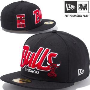 ニューエラ 5950キャップ マルチロゴ NBA シカゴブルズ ハードウッドクラシックス ブラック チームカラー New Era 5950 NBA Chicago Bulls Hardwood Classics|cio