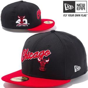 ニューエラ 5950キャップ ツートーンボディ NBA シカゴブルズ スクリプト ハードウッドクラシックス チームカラー New Era 5950 NBA Chicago Bulls Hardwood|cio
