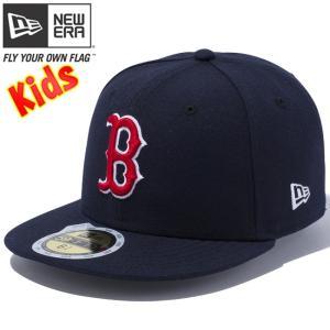 ニューエラ 5950キッズキャップ チーム ストラクチャー フィッティド ボストン レッド ソックス New Era 59FIFTY Kids Cap Team Fitted Boston Red Sox|cio