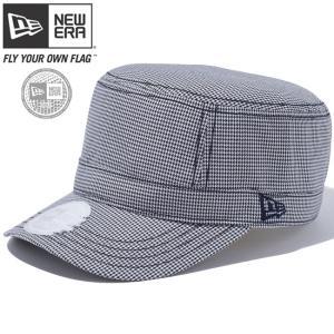 ニューエラ ワークキャップ WM01 アジャスタブル ゴルフ ハウンドトゥース ミッドナイトネイビー New Era Work Cap WM01 Adjustable Golf|cio