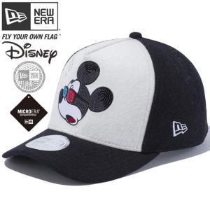 ディズニー×ニューエラ 940キャップ ゴルフ ディーフレーム マルチロゴ シークインド ミッキーマウス Disney×New Era 9FORTY Cap Golf D-Frame Multi Logo|cio