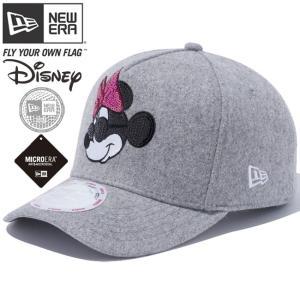 ディズニー×ニューエラ 940キャップ ゴルフ ディーフレーム マルチロゴ シークインド ミニーマウス Disney×New Era 9FORTY Cap Golf D-Frame Multi Logo|cio