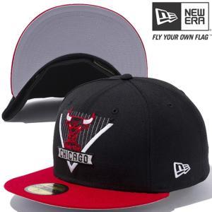 ニューエラ 5950キャップ ツートーンボディ マルチロゴ NBA シカゴブルズ New Era 59FIFTY Cap 2Tone Body Multi Logo NBA Chicago Bulls|cio