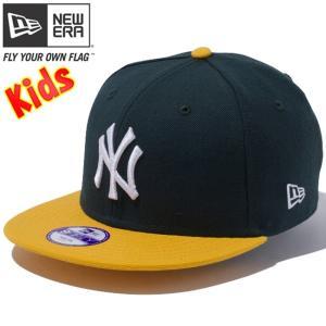 ニューエラ 950 スナップバック キッズキャップ ツートーンボディ ニューヨークヤンキース New Era 9FIFTY Snap Back Kids Cap 2Tone Body New York Yankees|cio