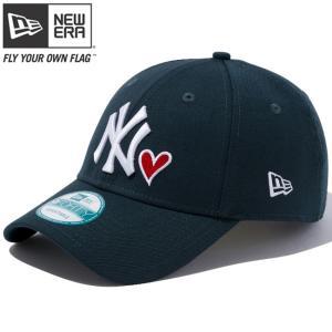 ニューエラ 940キャップ ニューヨークヤンキース ハートロゴコレクション グリーン New Era 9FORTY Cap New York Yankees Heart Logo Collection Green|cio