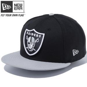 ニューエラ 950 スナップバック キャップ NFLカスタム オークランド レイダース ブラック New Era 9FIFTY Snap Back Cap NFL Custom Oakland Raiders|cio
