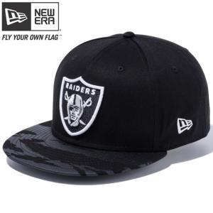 ニューエラ 950 スナップバック キャップ NFL オークランドレイダース タイガーストライプカモブラック New Era 9FIFTY Snap Back Cap NFL Oakland Raiders|cio
