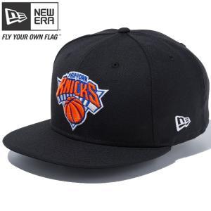 ニューエラ 950 スナップバック NBA カスタム ニューヨーク ニックス ブラック チームカラー New Era 9FIFTY Snap Back NBA Custom New York Knicks Black|cio