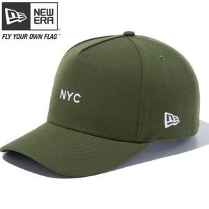 ニューエラ 940 スナップバック ディーフレームトラッカー ニューヨークシティ ミニ ライフルグリーン New Era 9FORTY Snap Back New York City Mini GreenWhite|cio