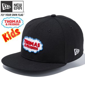 きかんしゃトーマス×ニューエラ 950チャイルド スナップバック トーマスロゴ ブラック Thomas & Friends×New Era 9FIFTY Child Snap Back Thomas Logo|cio