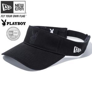 プレイボーイ×ニューエラ バイザー ゴルフ シークインド ラビットヘッド ブラック ホワイト Playboy×New Era Visor Golf Sequined Rabbit Head Black White|cio