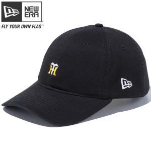 ニューエラ 920 キャップ 阪神タイガース カスタム スモールロゴ ブラック スノーホワイト マニラ New Era 9TWENTY Cap Hanshin Tigers Custom Small Logo Black|cio