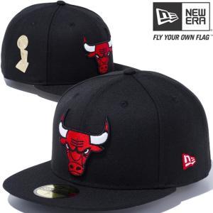 ニューエラ 5950 マルチロゴ NBA ファイナル トロフィー シカゴ ブルズ ブラック レッド New Era 59FIFTY Multi Logo NBA Final Trophy Chicago Bulls Black Red|cio