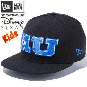 モンスターズユニバーシティ×ニューエラ 950 スナップバック キッズ MU ロゴ ブラック Monsters University×New Era 9FIFTY Snap Back Kids MU Logo Black|cio