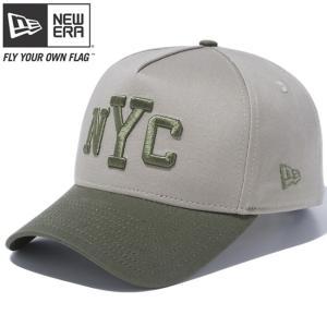 ニューエラ 940 スナップバック キャップ エーフレームトラッカー ニューヨークシティ ぺブル New Era 9FORTY Snap Back Cap A-Frame Trucker New York City|cio