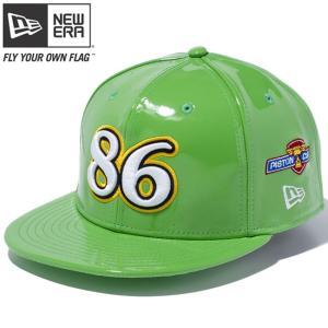 カーズ×ニューエラ 950 スナップバック キャップ チック 86 グリーン メリットゴールド スノーホワイト Cars×New Era 9FIFTY Snap Back Cap Chick 86 Green cio