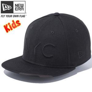 ニューエラ 950チャイルド スナップバック キャップ ニューヨークシティ ブラック ウッドランドカモブラック New Era 9FIFTY Child Snap Back Cap New York City|cio