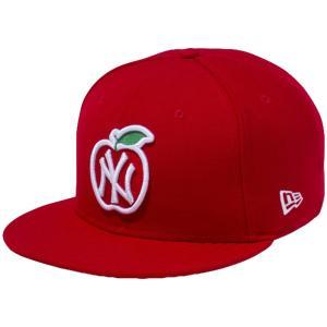 ニューエラ 950 スナップバック キッズ キャップ アップルロゴコレクション ニューヨークヤンキース New Era 9FIFTY Snapback Kids Cap Apple Logo Collection|cio