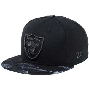 ニューエラ 950 スナップバック キャップ ダークナイトツリー オークランド レイダース New Era 9FIFTY Snapback Cap Dark Night Tree Oakland Raiders|cio