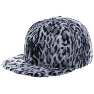 ニューエラ 5950キャップ オールオーバー レオパードファー ニューヨークヤンキース ホワイトレオパード New Era 59FIFTY Cap Leopard Fur New York Yankees cio