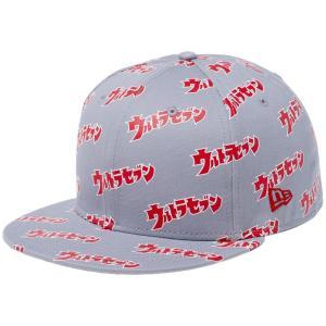 円谷プロダクション×ニューエラ 5950キャップ オールオーバー ウルトラセブン ロゴ プリント Tsuburaya Pro×New Era 59FIFTY Cap All Over Ultra Seven Logo|cio