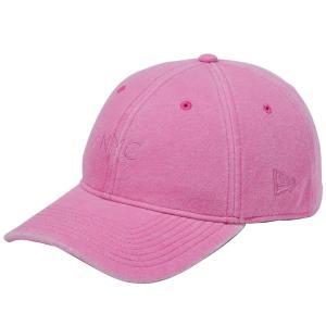 ニューエラ 930キャップ スウェット ニューヨークシティ NYC イタリアンウォッシュ ピンク New Era 9THIRTY Cap Sweat New York City NYC Italian Wash Pink|cio
