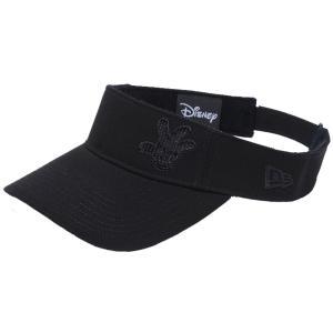 ディズニー×ニューエラ サンバイザー ゴルフ シークインド ミッキーマウス ハンド ブラック Disney×New Era Sun Visor Golf Sequined Mickey Mouse Hand Black cio