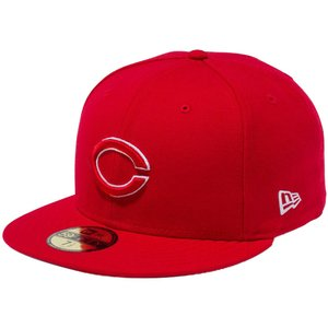 ニューエラ 5950キャップ アンダーバイザー 広島東洋カープ ロゴ スカーレット ホワイト New Era 59FIFTY Cap Under Visor Hiroshima Toyo Carp Logo Scarlet|cio