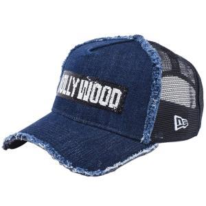 ニューエラ 940キャップ スナップバック エーフレームトラッカー リバーシブルシークインド ハリウッド インディゴデニム New Era 9FORTY Reversible Hollywood|cio