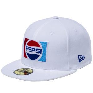 ペプシ×ニューエラ 5950キャップ マルチロゴ 1987 ロゴ オプティックホワイト マルチカラー Pepsi×New Era 59FIFTY Cap Multi Logo 1987 Logo Optic White|cio
