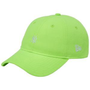 ニューエラ 930キャップ ニューヨークヤンキース ネオン グリーンショック スノーホワイト New Era 9THIRTY Cap New York Yankees Neon Green Shock Snow White|cio