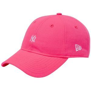 ニューエラ 930キャップ ニューヨークヤンキース ネオン ピンクグロウ スノーホワイト New Era 9THIRTY Cap New York Yankees Neon Pink Glow Snow White|cio