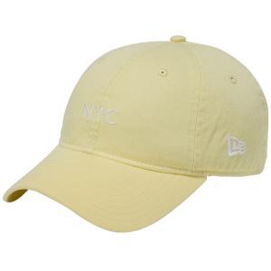 ニューエラ 920キャップ クローズストラップ パステル ニューヨークシティ NYC ソフトイエロー New Era 9TWENTY Cap Cloth Strap Pastel New York City NYC|cio