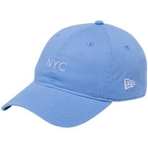 ニューエラ 920キャップ クローズストラップ パステル ニューヨークシティ NYC スカイブルー New Era 9TWENTY Cap Cloth Strap Pastel New York City NYC|cio