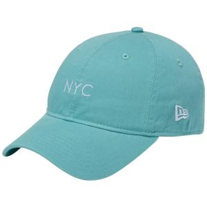 ニューエラ 920キャップ クローズストラップ パステル ニューヨークシティ NYC クリアミント New Era 9TWENTY Cap Cloth Strap Pastel New York City NYC|cio