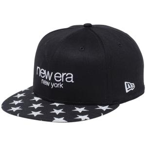 ニューエラ 950キャップ スナップバック リネン スターズ ニューヨーク ブラック ホワイトスター New Era 9FIFTY Cap Snap Back Linen Stars New York|cio