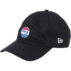 ペプシ×ニューエラ 930キャップ クローズストラップ ペプシパーフェクトロゴ ブラック Pepsi×New Era 9THIRTY Cap Cloth Strap Pepsi Perfect Logo|cio