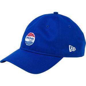 ペプシ×ニューエラ 930キャップ クローズストラップ ペプシパーフェクトロゴ ブライトロイヤル Pepsi×New Era 9THIRTY Cap Cloth Strap Pepsi Perfect Logo|cio