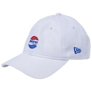 ペプシ×ニューエラ 930キャップ クローズストラップ ペプシパーフェクトロゴ ホワイト Pepsi×New Era 9THIRTY Cap Cloth Strap Pepsi Perfect Logo|cio
