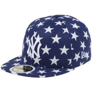 ニューエラ 5950キッズキャップ オールオーバー リネン スターズ ニューヨークヤンキース New Era 59FIFTY Kids Cap All Over Linen Stars New York Yankees|cio