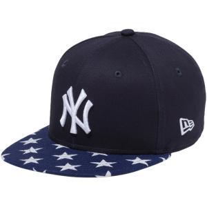 ニューエラ 950チャイルドキャップ スナップバック リネン スターズ ニューヨークヤンキース New Era 9FIFTY Child Cap Snap Back Linen Stars New York Yankees|cio