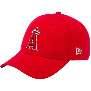 ニューエラ 940キャップ スナップバック ロサンゼルス  エンゼルス スカーレット チームカラー シルバー New Era 940 Cap Snapback Los Angeles Angels|cio